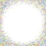 Vector el elemento colorido del fondo de las notaciones de música en estilo plano libre illustration