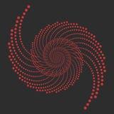 Vector el espiral abstracto Fotos de archivo