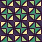 Vector el estampado de flores colorido inconsútil moderno de la geometría, fondo geométrico abstracto del color Foto de archivo