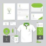 Vector el folleto, aviador, revista, carpeta, camisa, maqueta del cartel del folleto de la cubierta Fotos de archivo libres de regalías