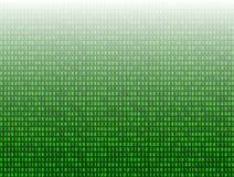 Vector el fondo abstracto de la tecnología, 3D efecto, datos del código binario del verde stock de ilustración
