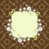 Vector el fondo floral Imagenes de archivo