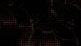 Vector el fondo iluminado mech del engranaje del moho negro abstracto Fotos de archivo