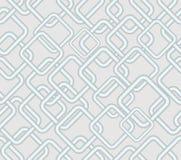 Vector el fondo que pone en contraste bajo inconsútil, modelos metálicos romboidales en área gris clara Fotos de archivo