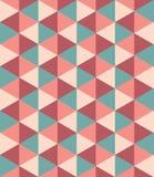 Vector el modelo colorido inconsútil moderno del triángulo de la geometría, extracto del color stock de ilustración