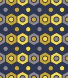 Vector el modelo colorido inconsútil moderno de la geometría, fondo geométrico abstracto del color Fotografía de archivo