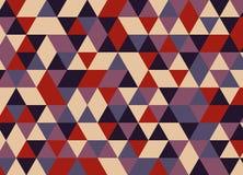 Vector el modelo colorido moderno del triángulo de la geometría, extracto del color Imagen de archivo libre de regalías