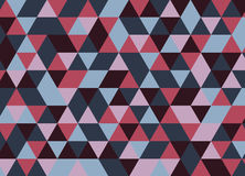 Vector el modelo colorido moderno del triángulo de la geometría, extracto del color Fotografía de archivo