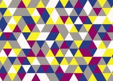 Vector el modelo colorido moderno del triángulo de la geometría, extracto del color Imagenes de archivo