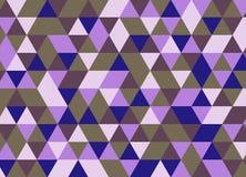 Vector el modelo colorido moderno del triángulo de la geometría, extracto del color Foto de archivo libre de regalías