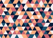 Vector el modelo colorido moderno del triángulo de la geometría, extracto del color Fotos de archivo libres de regalías