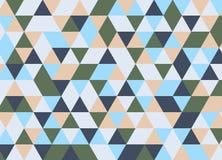 Vector el modelo colorido moderno del triángulo de la geometría, extracto del color Foto de archivo
