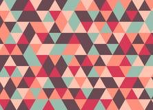 Vector el modelo colorido moderno del triángulo de la geometría, extracto del color Fotografía de archivo libre de regalías