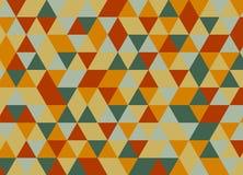 Vector el modelo colorido moderno del triángulo de la geometría, extracto del color Fotos de archivo