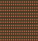 Vector el modelo con las zanahorias en una cama del jardín Modelo inconsútil GA Imagenes de archivo