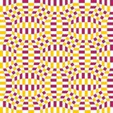 Vector el modelo a cuadros de la geometría colorida inconsútil moderna, fondo geométrico abstracto del color Imágenes de archivo libres de regalías