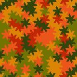 Vector el modelo inconsútil moderno del tessellation de la geometría, g abstracto Foto de archivo