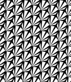 Vector el modelo inconsútil moderno extraño, extracto blanco y negro de la geometría ilustración del vector