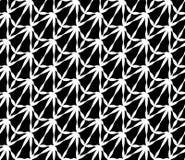 Vector el modelo inconsútil moderno extraño, extracto blanco y negro de la geometría libre illustration