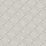 Vector el modelo inconsútil Ornamento rayado geométrico del zigzag Líneas inclinadas simples fondo ilustración del vector