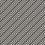 Vector el modelo inconsútil Ornamento rayado geométrico E ilustración del vector