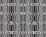 Vector el modelo inconsútil textura con estilo moderna Ornamento rayado geométrico Imagen de archivo