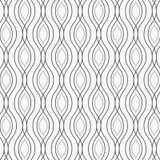 Vector el modelo monocromático, líneas negras de cadena abstractas en el fondo blanco, cadenas verticales sutiles Elemento del di Imágenes de archivo libres de regalías