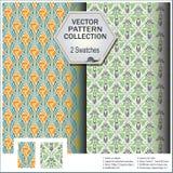 Vector el modelo que incluye muestras de cáscaras y de plantas Fotografía de archivo libre de regalías