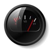 Vector el nivel de combustible stock de ilustración