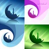 Vector el sistema creativo del ejemplo del fondo del festival del Ramadán stock de ilustración