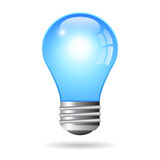 Vector electric bulb Stock Image