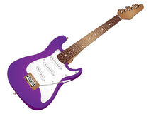 Vector Electric Guitar Royalty Free Stock Photos