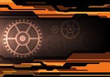 Vector electronic background Stock Photos