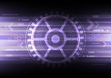 Vector electronic communication background Royalty Free Stock Photography
