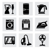 Vector electronics icon set Royalty Free Stock Photo