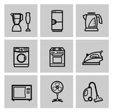 Vector electronics icon set Royalty Free Stock Photography