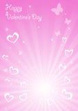 Vector elegance valentine card. Clip-art Stock Images