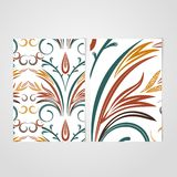 Vector Elegant background with lace ornament . Stock Photography