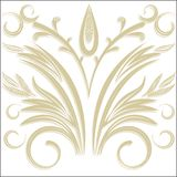 Vector Elegant background with lace ornament . Royalty Free Stock Photography