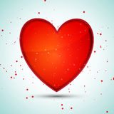 Vector elegant heart Stock Photography