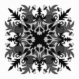 Vector elegant mandala with intricate detail oriental element of decor Royalty Free Stock Photo