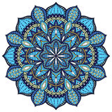 Vector, elegant mandala, with intricate detail. Royalty Free Stock Photos