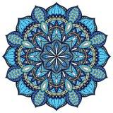 Vector, elegant mandala, with intricate detail. Royalty Free Stock Photos