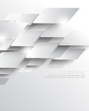 Vector elegant metallic overlapping geometric elements corporate business background Stock Images