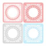 Vector elegant pattern design royalty free illustration