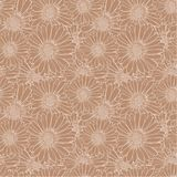 Vector Elegant Seamless Pattern with Flowers, Open-work Pattern. vector illustration