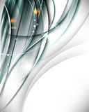 Vector elegant wave abstract background Royalty Free Stock Photo