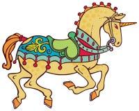 Vector elegante colorido del unicornio Foto de archivo