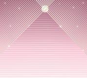 Vector elegante de la tarjeta de la invitación del encanto del fondo del modelo de las rayas libre illustration