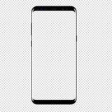 Vector elegante del teléfono que dibuja el fondo transparente